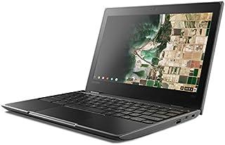 "Lenovo 联想 100e 81ER000BUS 11.6"" HD Chromebook,英特尔双核赛扬 N3350 1.1 GHz 高达 2.4 GHz,4GB 内存,16GB SSD,蓝牙,USB Type C,802.11ac,网络摄像..."