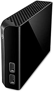 Seagate 希捷 Backup Plus HUB 外置硬盘 带2端口USB转换器 8TB,3.5英寸,USB3.0,PC Notebook & Mac 款号:STEL800