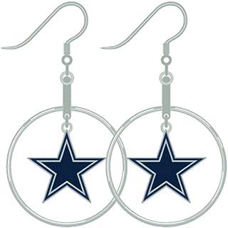 Pro Specialties Group 达拉斯牛仔耳环箍 NFL 女士礼物