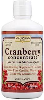 Only Natural *蔓越莓浓缩液 - 32 液体盎司