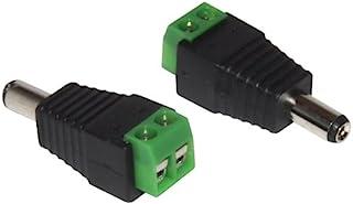 用于 * 摄像机的简易线缆 2.1mm 直流插头 可连螺丝端子