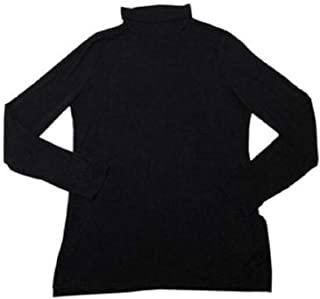 Active Life 女式长袖高领上衣,黑色,M 码