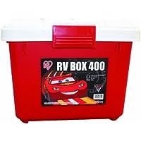爱丽思Cars 汽车总动员 收纳箱RVBOX400 红色