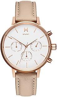 MVMT NOVA 手表,38 毫米女式指針式手表計時