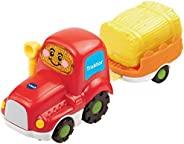 VTech 80 152304 – Tut Tut 婴儿扩容器 – 拖拉机和拖车