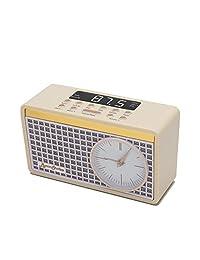 Byron Statics 時鐘收音機 FM 收音機數字鬧鐘
