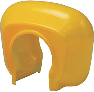 TRUSCO 单管夹具套 黄色 (100个装) TTCK-Y