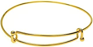Beadaholique BRAC600GP 珠宝首饰首饰,亮金色