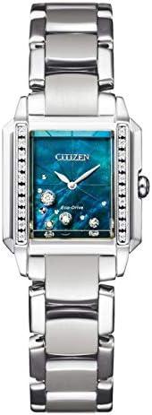 Citizen 西铁城 腕表 CITIZEN L Eco-Drive 钻石 方形表壳 限定款 1,200只限定 EG7060-93W