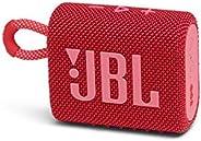 JBL GO 3 Bluetooth音箱 USB C充电/IP67防尘防水/搭载无源*器/便携/2020年款 红色 JBLGO3RED [国内正规货]