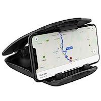 车载手机支架,WizGear 仪表板手机支架,仪表板支架手机支架,适用于智能手机、手机汽车垫垫垫,适用于 Samsung 三星、Galaxy、Nokia 智能手机、Google 和 Note