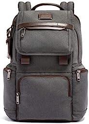 TUMI 途明 - Alpha 3 翻盖背包 - 15 英寸电脑包男女皆宜 煤灰色