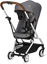 CYBEX Gold Eezy S Twist Compact Pushchair, 360° Rotatable Seat Unit, Ultra-Compact, From Birth to 17 kg (appro