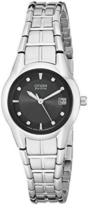 Citizen 西铁城 女式光动能不锈钢表链手表