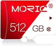 512GB 存储卡 Class 10 卡 Micro SD 卡 兼容电脑相机和智能手机存储卡 带 SD 卡适配器