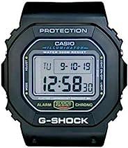CASIO 卡西欧 G-Shock Dw-5600 数字挂钟,树脂,黑色,280 X 60 X 320