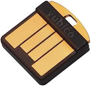 Yubico YubiKey 5 Nano-两因素身份验证USB密钥,适合USB-A端口-不仅使用额外密码保护您的在线帐户,还提供FIDO认证的USB密码密钥,超小尺寸
