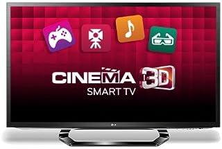 LG 32LM620T 32 英寸宽屏 1080p 全高清 LED 影院 3D 智能电视,带 Freeview 高清和 4 副 3D 眼镜(制造商已停产)