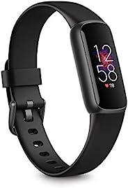 Fitbit Luxe: 追踪器适用于健身和舒适,带高达5天电池、压力管理工具和活动区分钟