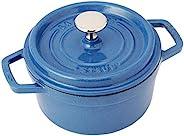 Zwilling 雙立人 Staub 琺寶 Luminous 圓形砂鍋,藍色