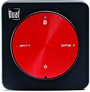 Dual Electronics XGPS150A多功能通用蓝牙GPS接收器,具有广域增强系统和便携式附件