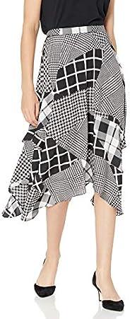 Calvin Klein 卡尔文·克莱恩 女式 褶皱细节中长裙
