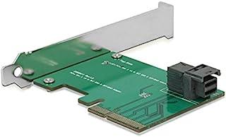 ICY BOX IB-PCI211 转换板,1 x Mini SAS (SFF-8643) PCIe 3.0 (x4),全高支架,12 Gb/秒,银色