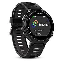 Garmin 先行者735XT GPS多功能运动和跑步手表-黑色/灰色