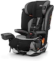 Chicco 智高 MyFit Zip Air 2 合 1 *带 + 增高汽车*座椅 适合幼儿和大孩 5点式*带 固定*带 拉链清洗面料 3D 透气网布 Q系列
