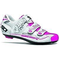 シディ 固定器鞋 ジェニウス 女士 Genius 女式白色/粉色 - Fluo