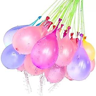 Magic Water Balloons 快速填充自密封水气球,适合户外娱乐,3 只装(9 包 - 共 333 个水球)