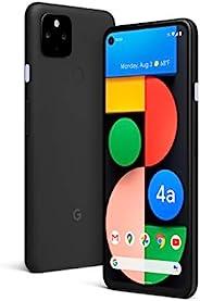 Google 谷歌 Pixel 4a with 5G - Android 手机 - 全新无锁智能手机 带夜视和超广角镜头 - 仅黑色