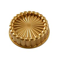 Nordic Ware 83577Charlotte 蛋糕印模,均码,金色