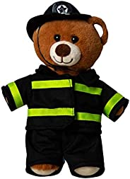 LUV 松饼毛绒玩具 8 英寸(约 20.3 厘米)消防员护理朋友 消防员毛绒玩具 消防员玩具 前线英雄