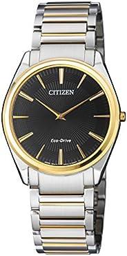 Citizen 西铁城 AR3078-88E 男式 Eco Drive 双色钢表带手表