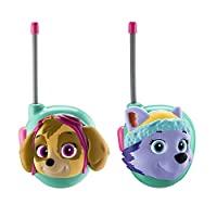 狗狗巡逻队 walkie talkies–2件套儿童 walkie talkies–Skye / EVEREST 字样–优秀 walkie talkies 童装 .
