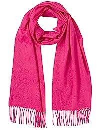 [LANVIN en Bleu] AURORA *山羊绒 素色围巾(蒙古制造)LB61052-00 《一般公司团法人蒙古国羊绒协会认证》 纤维长 强度高 纤维宝石