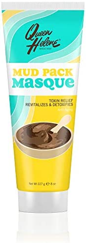 Queen Helene Mud Pack Masque, 8-Ounce Tube (Pack of 6) 8 Ounce (Pack of 6)
