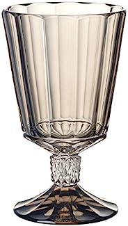 Villeroy&Boch 德国唯宝 Opera 烟熏红葡萄酒杯:4件装,5.75英寸/9.5盎司(约14.60厘米/280.91毫升),水晶玻璃,透明/灰色