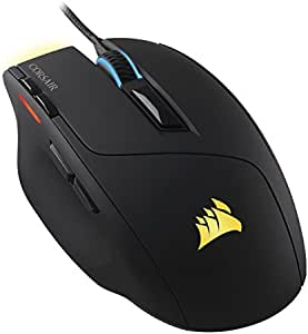Corsair Gaming Sabre RGB Gaming Mouse, Light Weight, 10000 DPI, Optical, Multi color (CH-9303011-NA)