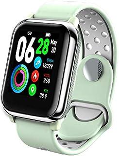 BYALL 儿童 Android 智能手表,自动日期,完整日历,防水计时,太阳能,蓝牙,发光,防震,*追踪器,健身追踪器
