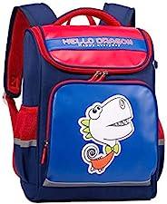 HELLO DRAGON 009AGS 电脑笔记本电脑背包和学生背包 红色+蓝色 39CM*31CM*22CM