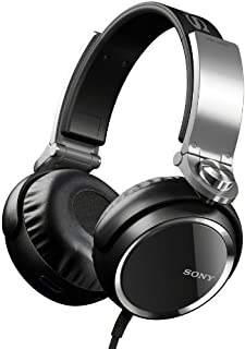 Sony 索尼 MDRXB800 超低音头50mm 司机耳机,黑色