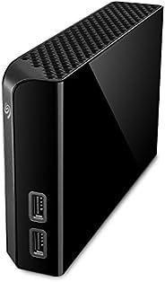 Seagate 希捷 Backup Plus Hub 10 TB外置硬盘 桌面硬盘 – USB 3.0,用于台式机 工作站电脑 笔记本电脑Mac,2个USB端口 2个月Adobe CC摄影(STEL1000400),黑色