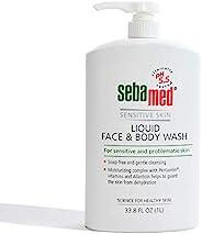 施巴科研中心-橄榄面部和沐浴露,适合敏感和精致肌肤-33.8 fl. 盎司