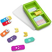 Osmo 编码教育学习游戏家庭捆绑包-3个,适合5-10岁以上-编码果酱,Awbie编码,Duo二重奏-STEM玩具(需要Osmo底座),用于iPad和Fire Tablet