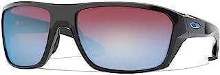 Split Shot OO9416 941620 64 毫米抛光黑色/Prizm 雪蓝宝石铱矩形男式太阳镜 + 配有 Oakley 配件皮带套件