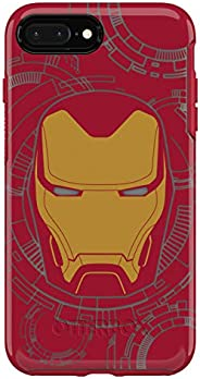 OtterBox 对称系列 Marvel 手机壳,适用于 iPhone 8 Plus / 7 Plus - I am Iron Man
