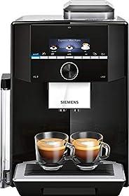Siemens 西門子 EQ.9 – 全自動咖啡機 帶觸摸屏 – 可同時放置兩杯 – iAroma 系統和Aroma DoubleShot 不連接! 黑色