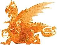 3D 水晶拼图 - 龙(橙色):56 片